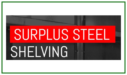 Surplus Steel Shelving