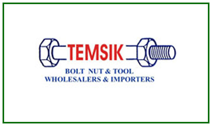 Temsik Bolt Nut & Tool Wholesalers